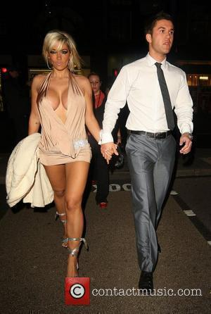 Jodie Marsh and Guest leaving Studio Valbonne nightclub London, England - 18.07.08