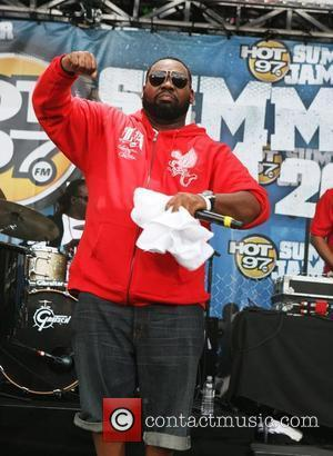 Rayquan performs at the annual 'HOT 97 Summer Jam' concert at Giant's Stadium Rutherford, New Jersey - 01.06.08