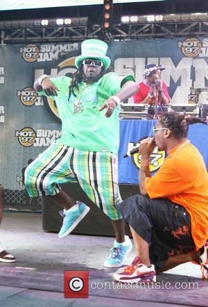 T-Pain performs at the annual 'HOT 97 Summer Jam' concert at Giant's Stadium Rutherford, New Jersey - 01.06.08