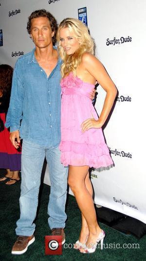 Matthew McConaughey and Hannah Cornett
