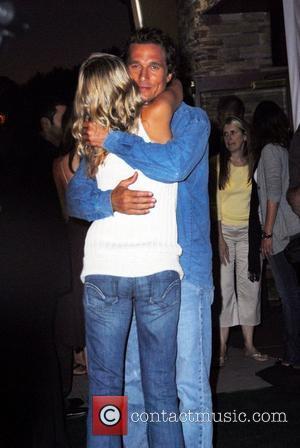 Sarah Wright and Matthew McConaughey The world premiere of 'Surfer Dude' held at Cross Creek Cinema - Arrivals Malibu, California...