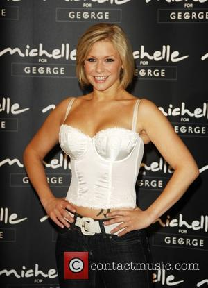 Suzanne Shaw  launches 'Michelle' for Asda lingerie range in the Watford Asda Superstore Watford, England - 06.08.08