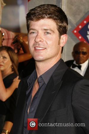 Robin Thicke 'Swing Vote' Premiere held at El Capitan Theatre Hollywood, California USA - 24.07.08