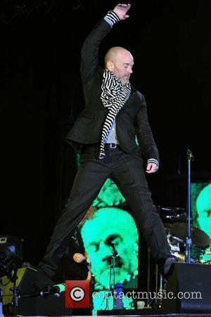 Michael Stipe of REM The T in the Park festival - Day 3 Perth and Kinross, Scotland - 13.07.08
