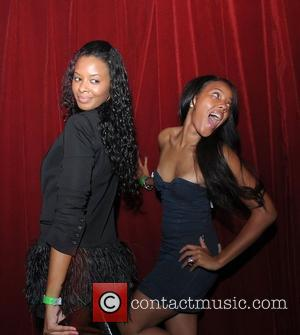 Vanessa Simmons and Angela Simmons T-pain Vs DJ Irie party held at Parkwest night club Miami, Florida - 16.08.08