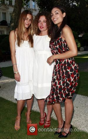 Yasmin Le Bon, Tara Smith and Rosario Dawson