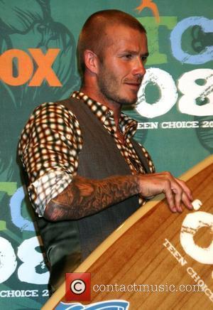 David Beckham and Teen Choice Awards