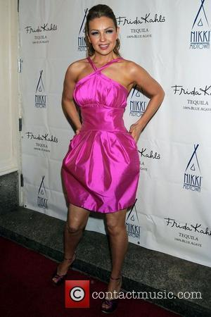 Thalia Launch party for Thalia's new CD 'Lunada' at Nikki Midtown New York City, USA - 17.06.08
