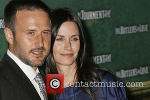David Arquette and Courteney Cox Arquette