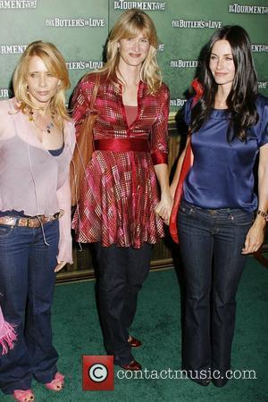 Rosanna Arquette, Laura Dern and Courteney Cox Arquette