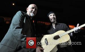 The Edge and Peter Gabriel