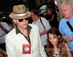 Bob Geldof and Tiger Lily