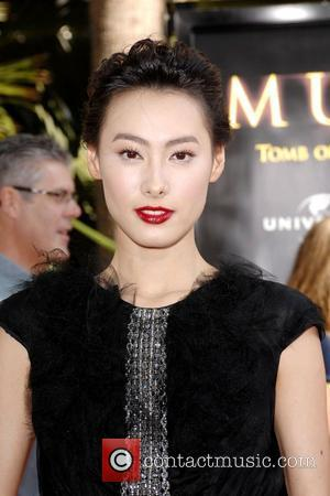 Isabella Leong Los Angeles Premiere of 'The Mummy: Tomb Of The Dragon Emperor' at the Gibson Amphitheatre Universal City, California...