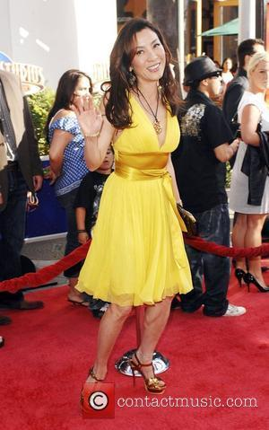 Michelle Yeoh Los Angeles Premiere of 'The Mummy: Tomb Of The Dragon Emperor' at the Gibson Amphitheatre Universal City, California...