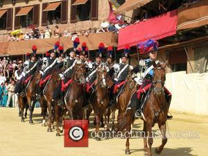 Piazza del Campo is host to 'The Palio', an annual 14th Century Italian horse race. The piazza is just one...
