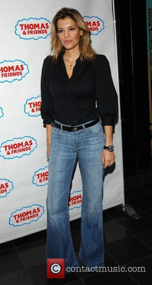 Linda Papadopoulos Arrives for the DVD Launch of Thomas The Tank Engine and Friends: The Great Discovery at Vue Cinema...