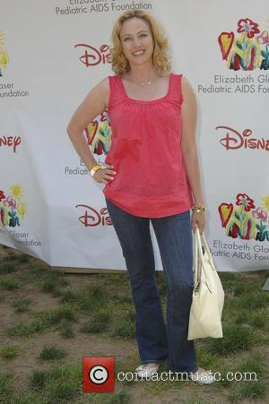 Virginia Madsen,  Time for Heroes celebrity carnival to benefit The Elizabeth Glaser Pediatic Aids Foundation.  Los Angeles, California...