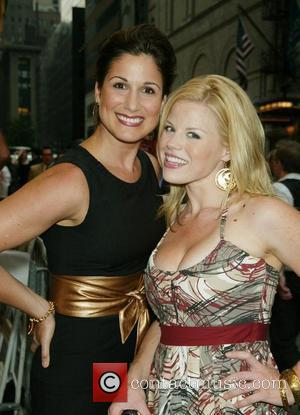 Stephanie J. Block and Megan Hilty Opening Night of the Broadway musical 'Title of Show' at the Lyceum Theatre -...