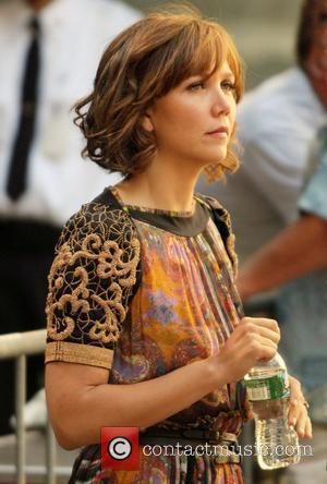 Maggie Gyllenhaal  arrives for her appearance on 'The Today Show' in Rockefeller Plaza New York City, USA - 16.07.08