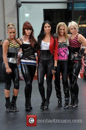 Pussycat Dolls perform live on 'The Today Show's Summer Concert Series' at Rockefeller Plaza New York City, USA - 29.08.08