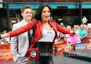 Jesse McCartney and Nicole Scherzinger of the Pussycat Dolls perform live on 'The Today Show's Summer Concert Series' at Rockefeller...