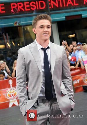 Jesse McCartney performs live on 'The Today Show's Summer Concert Series' at Rockefeller Plaza New York City, USA - 29.08.08