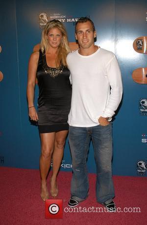 Rachel Hunter and Tony Hawk