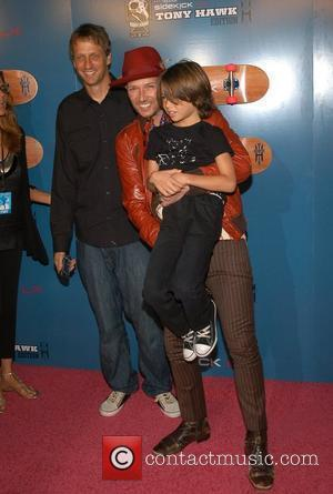 Tony Hawk, Scott Weiland and Noah Weiland The Launch Party of the T-Mobile Sidekick LX Tony Hawk Edition - Arrivals...