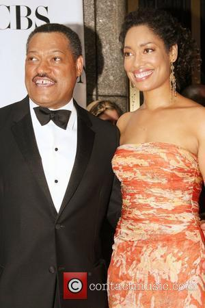 Laurence Fishburne and Gina Torres The 62nd Tony Awards at the Radio City Music Hall - Arrivals New York City,...