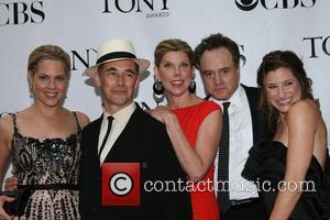 Mary McCormack, Mark Rylance, Christine Baranski, Bradley Whitford and Kathryn Hahn The 62nd Tony Awards at the Radio City Music...