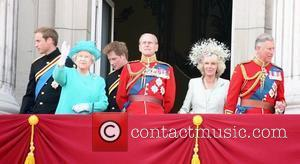 Prince William, Camilla Parker Bowles, Prince Charles and Prince Harry