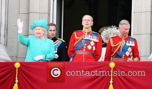 Queen Elizabeth Ll, Prince Charles and Prince William