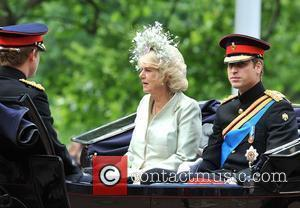 The Duchess of Cornwall and Prince William