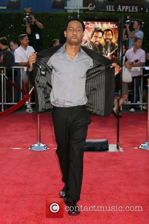 Brandon T. Jackson Los Angeles premiere of Tropic Thunder held at Mann's Village Theatre - Arrivals California, USA - 11.08.08