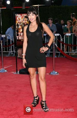 Marcela Mar Los Angeles premiere of Tropic Thunder held at Mann's Village Theatre - Arrivals California, USA - 11.08.08