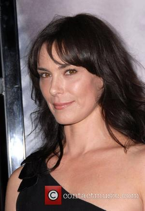 Michelle Forbes Los Angeles Premiere of HBO's series 'True Blood' at the Cinerama Dome - Arrivals Los Angeles, California -...