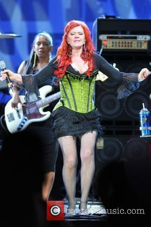 Kate Pierson from the B52's appears live at the Sinatra Theater as part of the True Colors tour Sunrise, Florida...