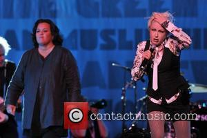Rosie Odonnell and Cyndi Lauper