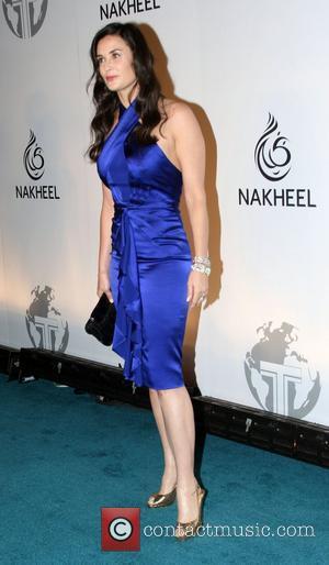 Demi Moore Nakheel Launches Trump International Hotel and Tower Dubai at The Park Avenue Plaza - Arrivals New York City,...