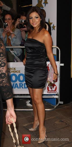 Roxanne Pallett , arrive at TV Quick & TV Choice Awards at The Dorchester. England - 08.09.09