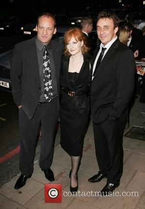 Nick Miles, Emma Davies and Matt Healey, arrive at TV Quick & TV Choice Awards at The Dorchester. England -...