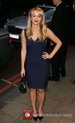 Sammy Winward, arrive at TV Quick & TV Choice Awards at The Dorchester. England - 08.09.08