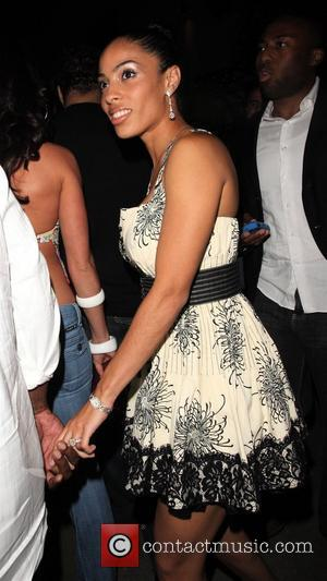 Tyrese Gibson and a female friend Arriving at Coco Deville nightclub West Hollywood, California - 15.07.08