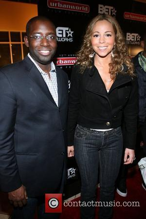 Stacy Spikes and Mariah Carey
