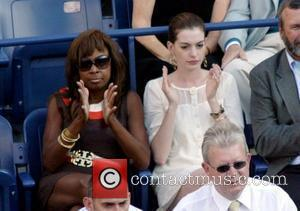 Star Jones Reynolds and Anne Hathaway