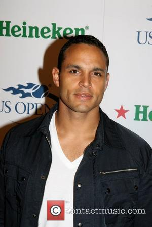 Daniel Sunjata 2008 US Open official player party hosted by the USTA and Heineken at the Empire Hotel Rooftop Los...