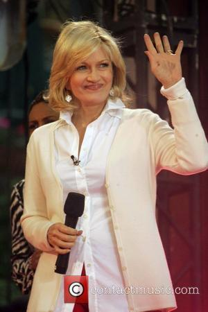 Diane Sawyer Usher performs on ABC's 'Good Morning America Summer Concert Series' at Bryant Park New York City, USA -...