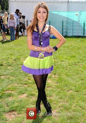 Gabriella Cilmi backstage V2008 festival at Hylands Park - Day 1 Chelmsford, England - 16.08.08