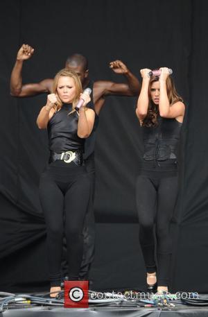 Kimberley Walsh and Cheryl Cole