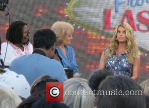 Jessica Simpson and Whoopi Goldberg